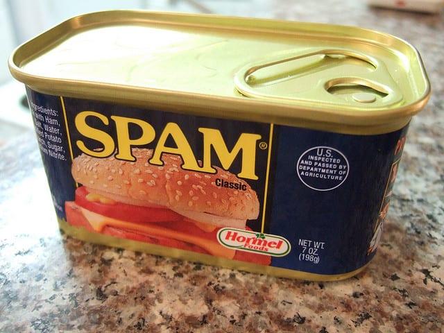 Spam/Non-Spam Discrimination