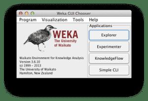Weka Loader Interface