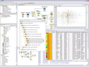 Screenshot of KNIME