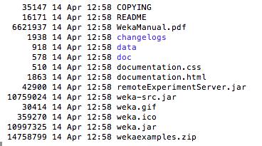 Weka Installation Files