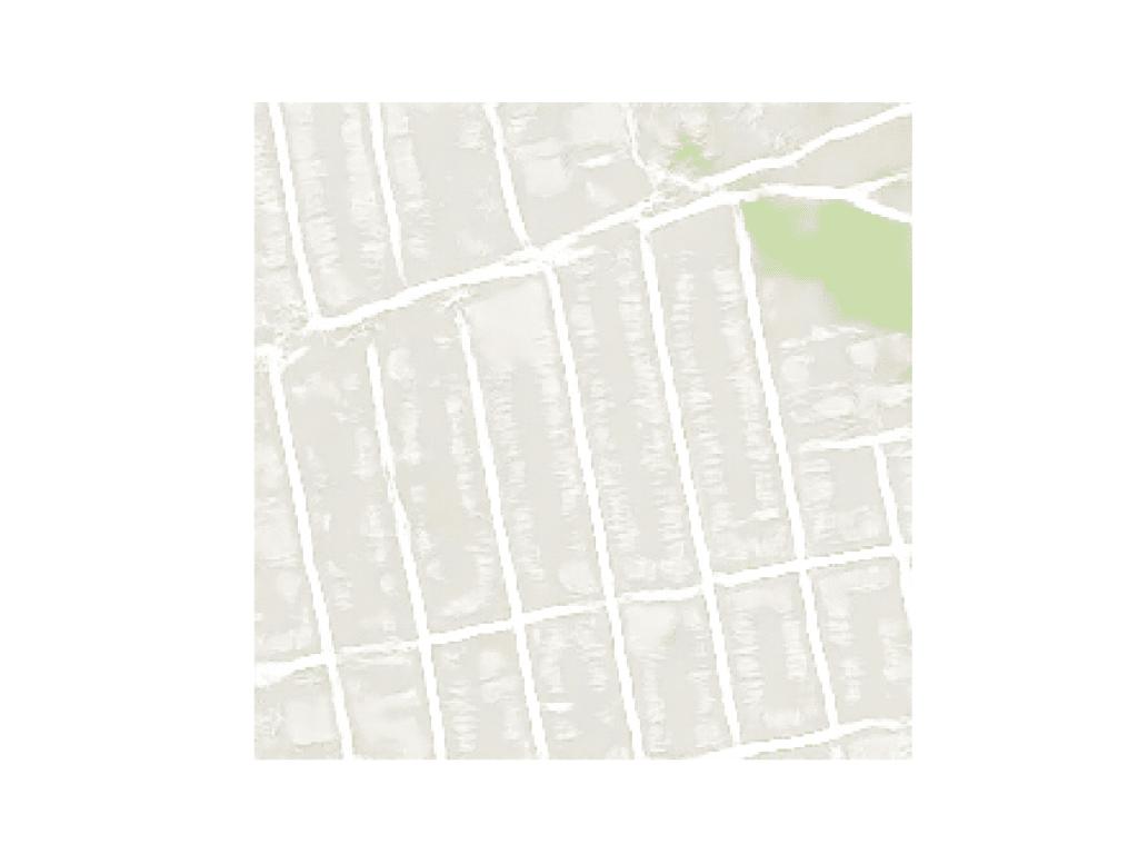 Plot of Satellite Image Translated to Google Maps With Final Pix2Pix GAN Model