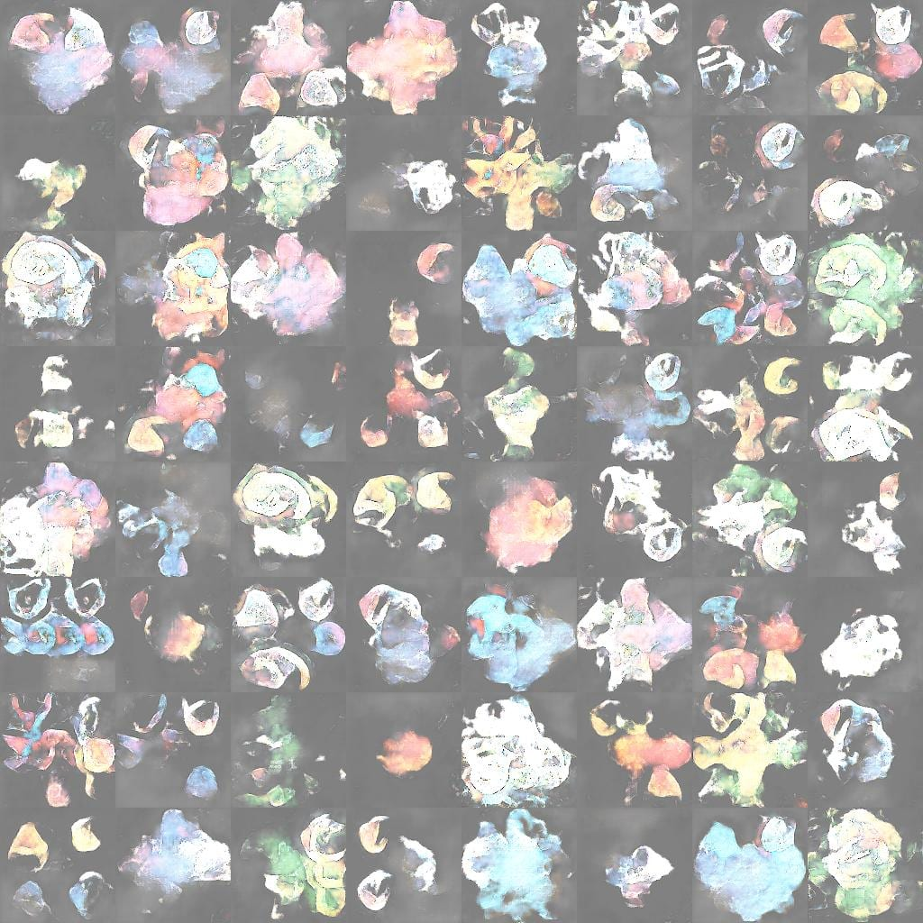 Example of GAN Generated Pokemon Characters