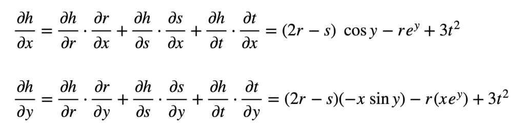 The Chain Rule of Calculus 32