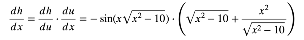 The Chain Rule of Calculus 24